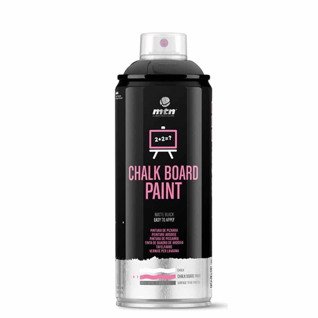MTN PRO Chalkboard | צבע שחור ללוח גיר בספריי