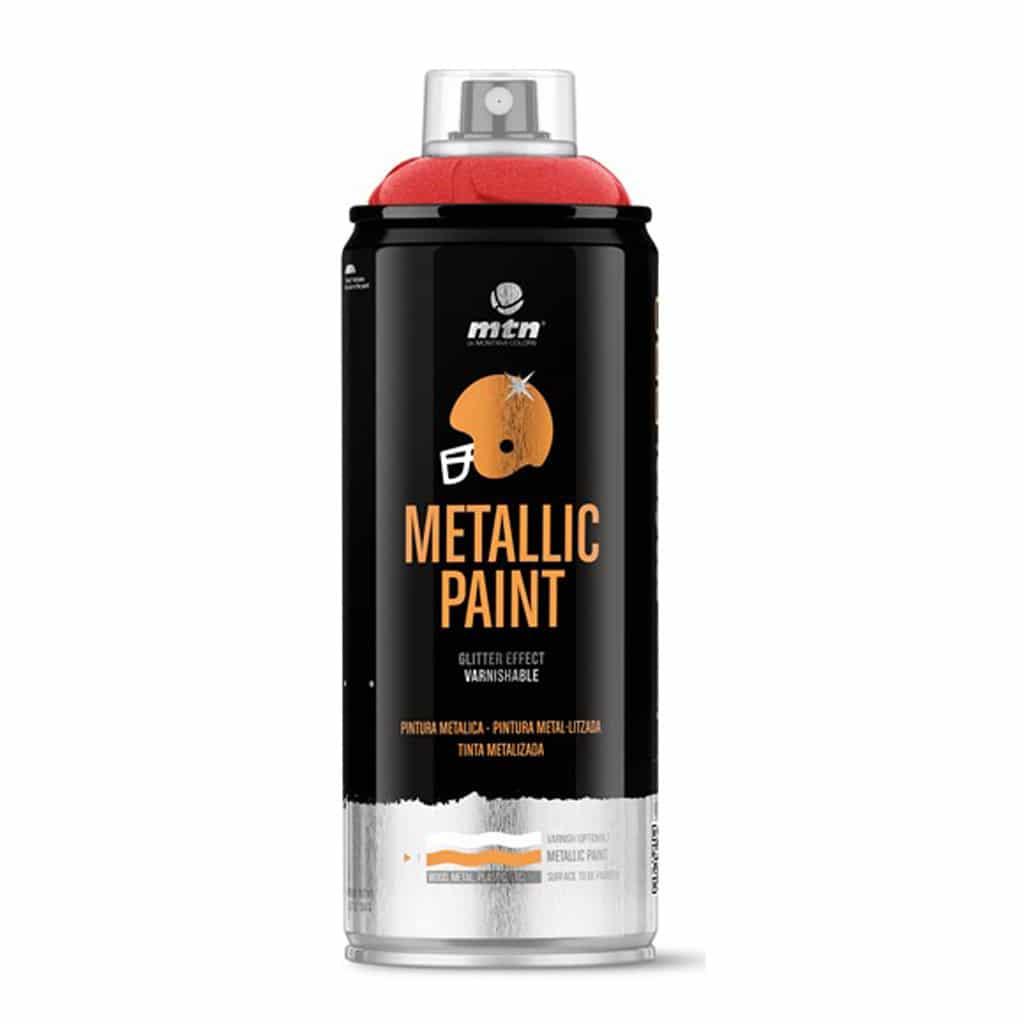 ספריי צבע מטאלי | MTN PRO Metallic Paint
