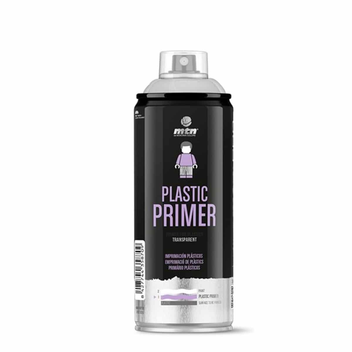 ספריי פריימר לפלסטיק | MTN PRO Plastic Primer